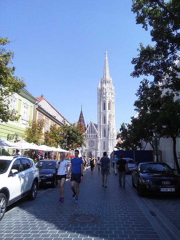 Street in Budapest, Hungary