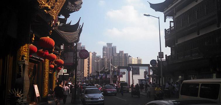 Near City God Temple, Shanghai
