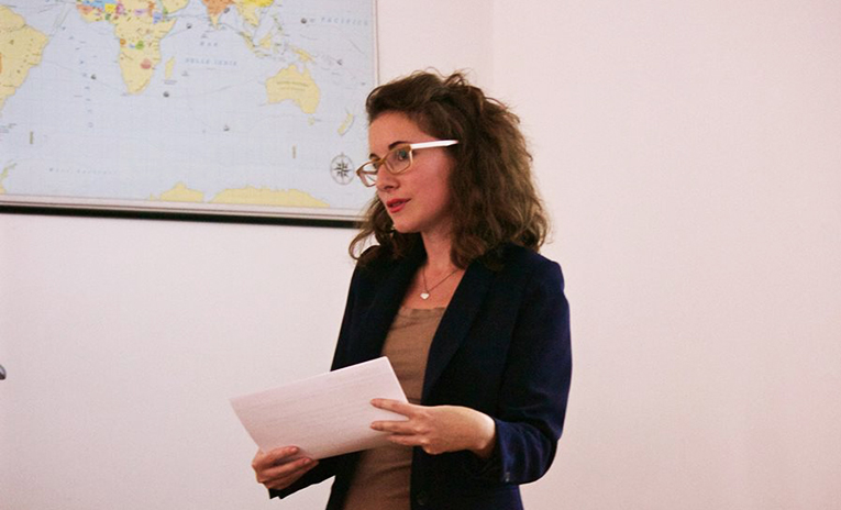 Carla Ferrero, Europe General Manager for Absolute Internships