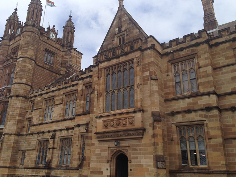 Building at the University of Sydney in Australia