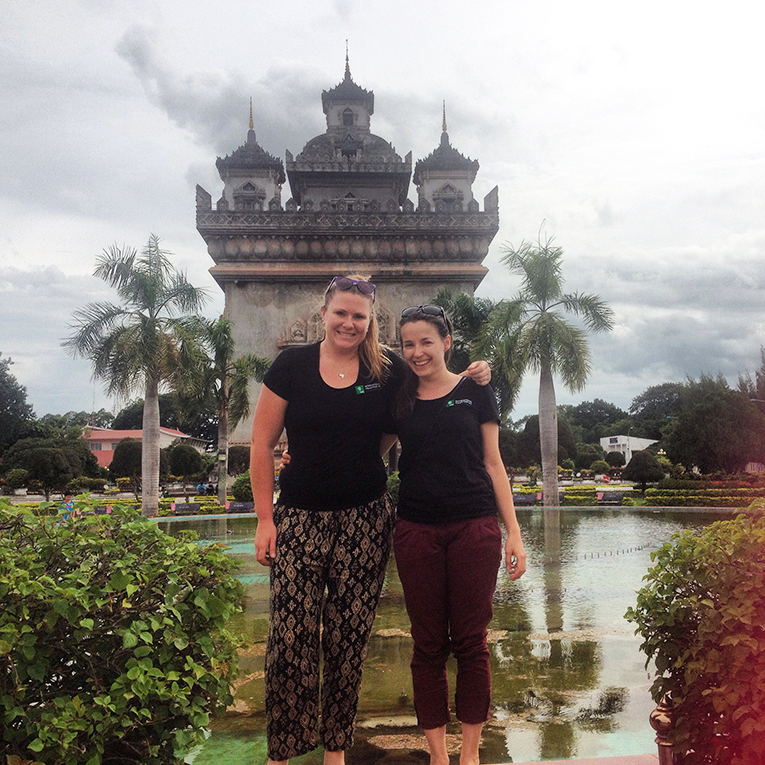 Sightseeing in Laos