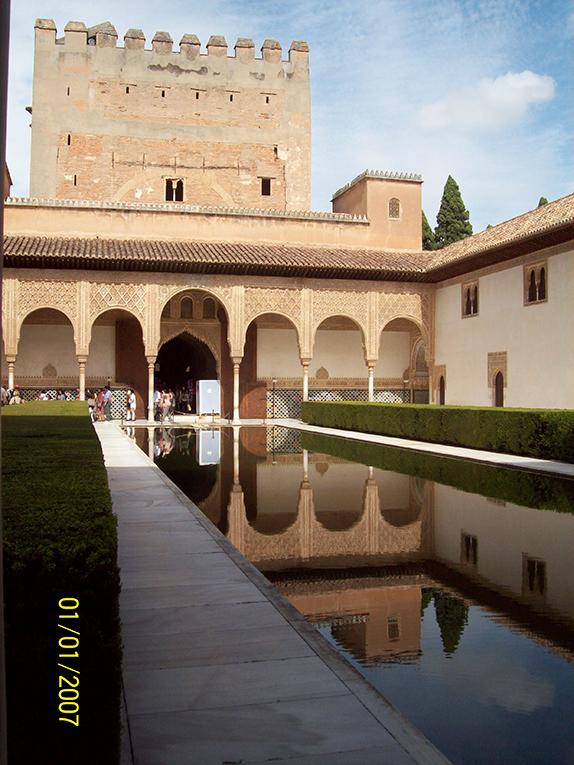Visiting La Alhambra in Spain