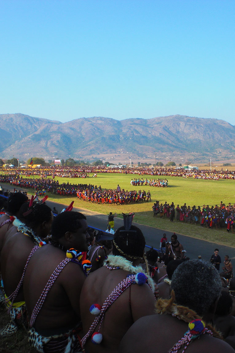 Swazi Reed dance in Swaziland