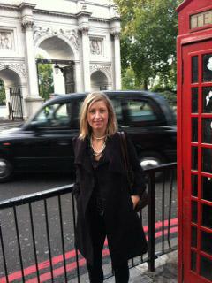 Woman in London, England