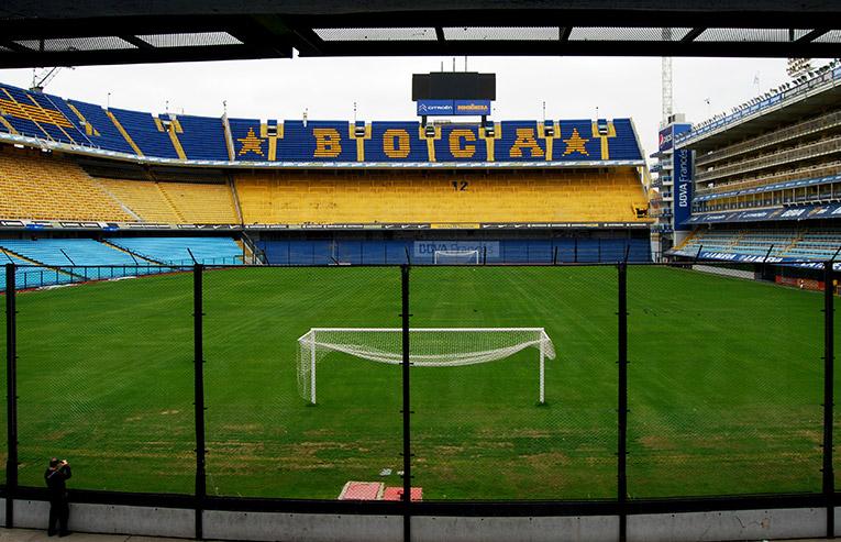 Futbol Stadium in Argentina