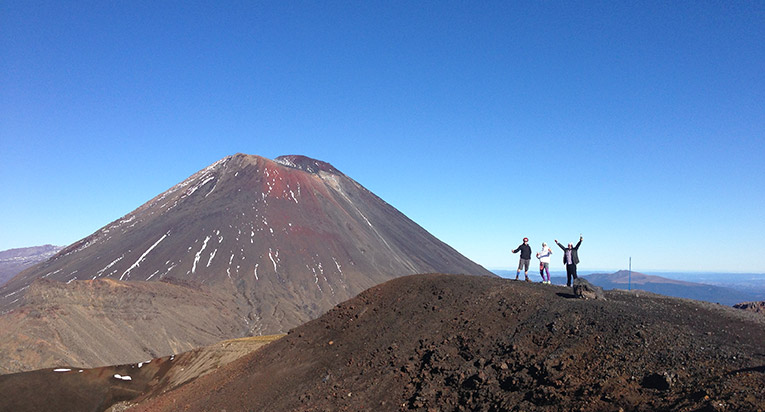 Mount Doom Lord of the Rings in New Zealand