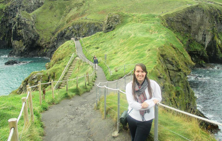 Carrick-A-Rede Bridge in Northern Ireland