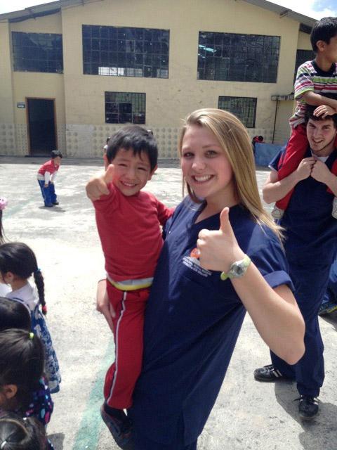 Volunteering in Ecuador with children