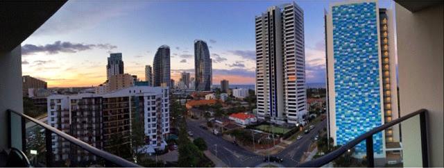 View of Broadbeach in Gold Coast, Australia