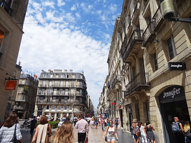 Rue St. Catherine, Bordeaux, France