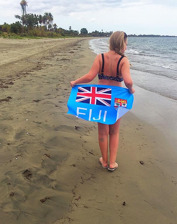 A beach in Fiji