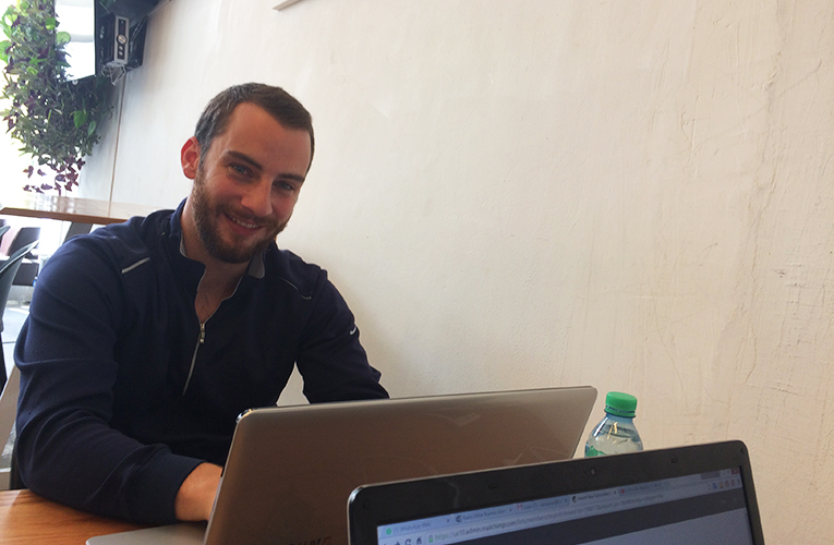 Will Zupan at the TEFLArgentina office