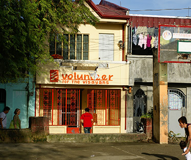 Volunteer for the Visayans community center.