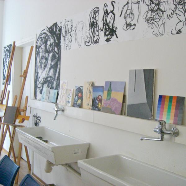 Athena Study Abroad Rome, Italy Art Classroom