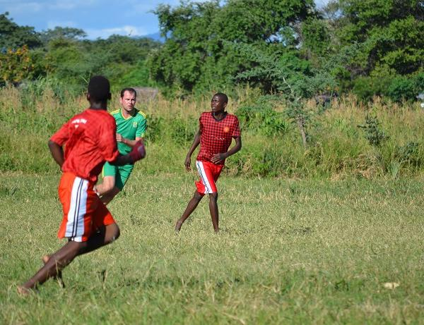 Football volunteering africa