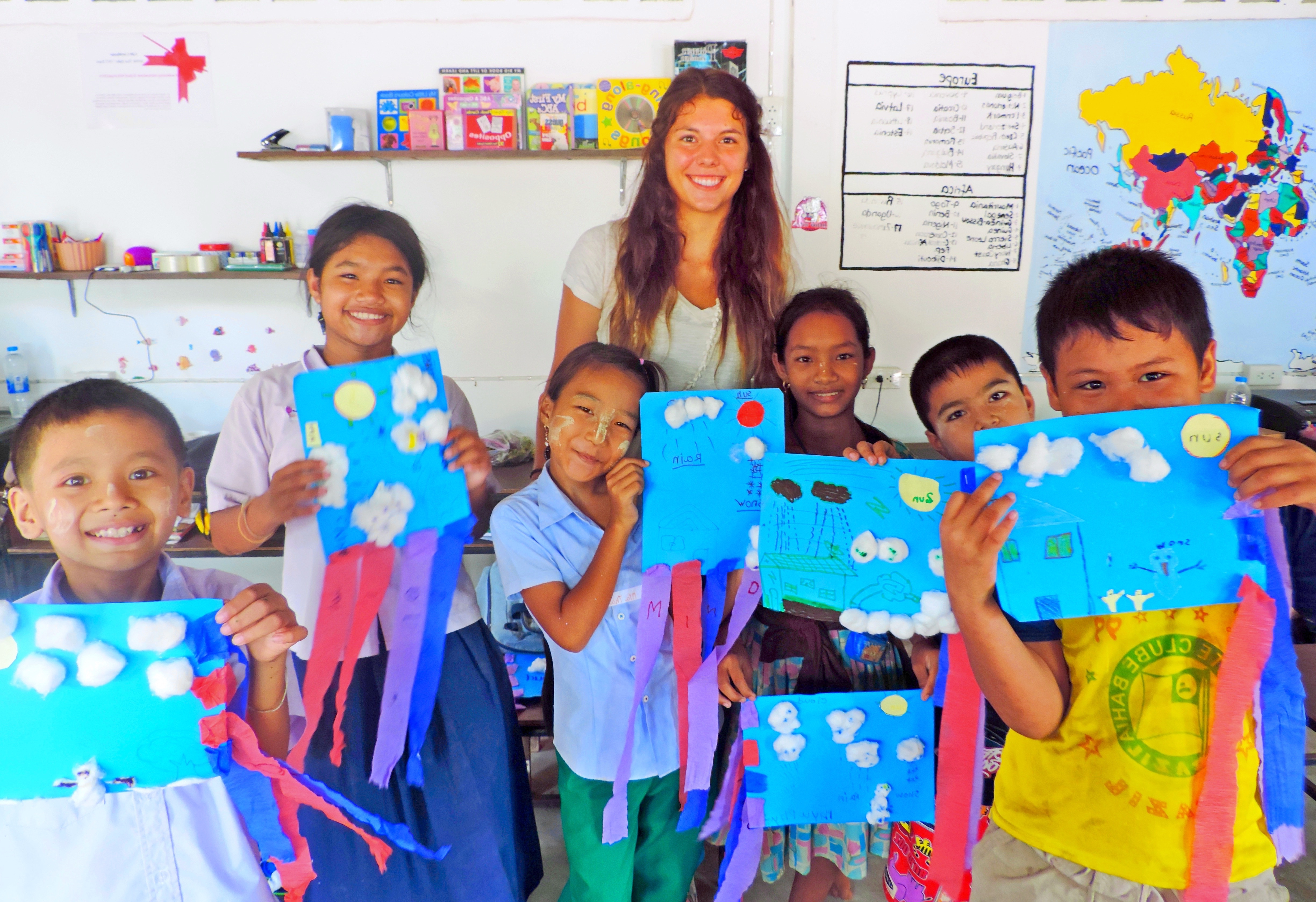 volunteering in Thailand