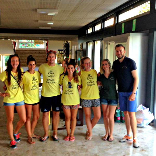 ECC Camp Counselors travel to Austria for Summer Camp