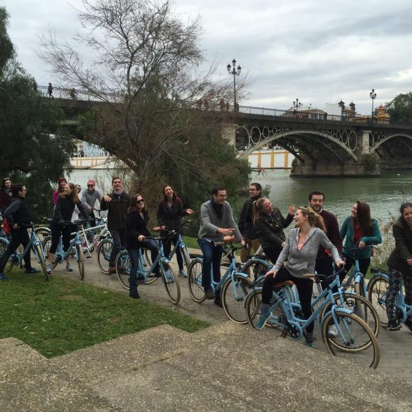Bike tour in Sevilla, Spain