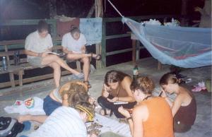 Volunteers on their leisure time