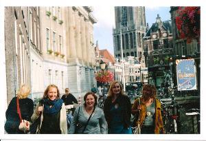 Participants exploring Europe