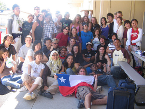 AFS students in Chile