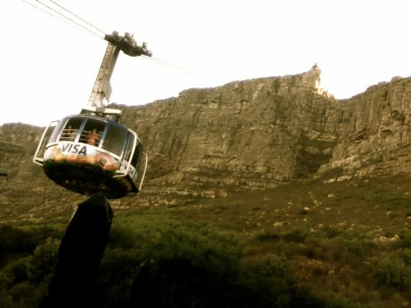 if i could... Table Mountain cable car in Cape Town