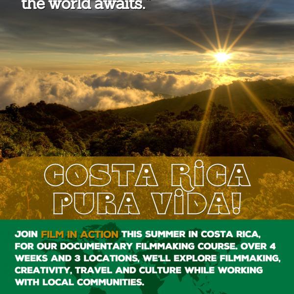 Costa rica, poster, 2017