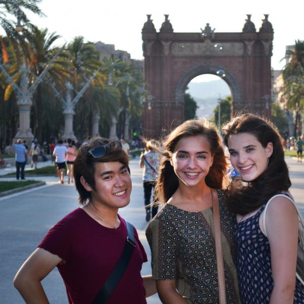 Barcelona, Spain, Teen Travel, Arc de Triomf