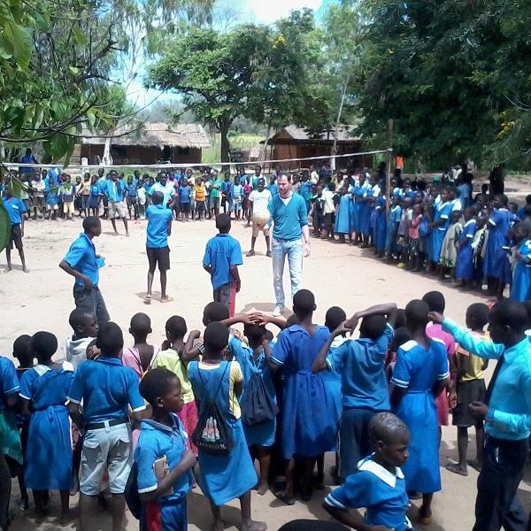 Sports volunteering Africa