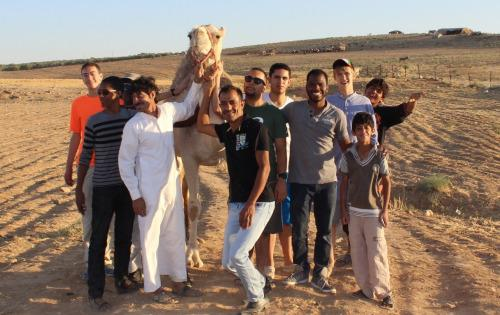 Hop on a camel