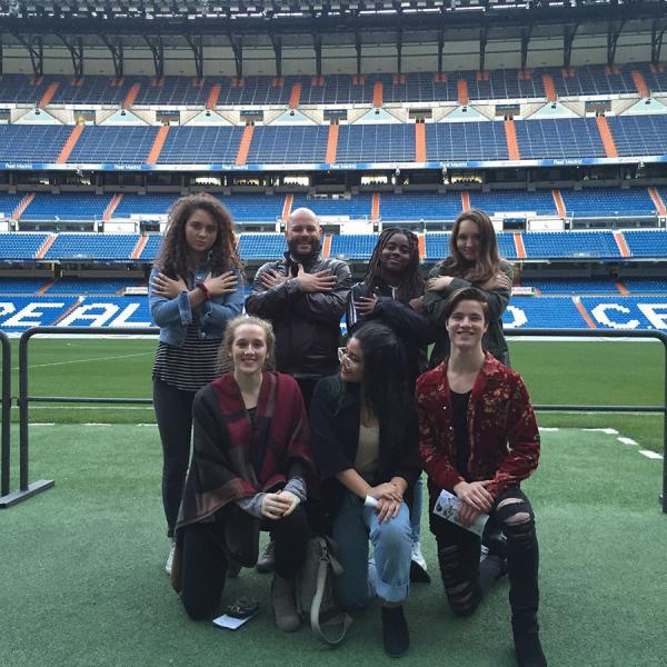 Santiago Bernabéu Tour (Madrid, Spain)  - Educational tour in Spain