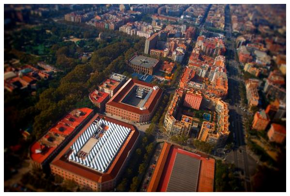 UPF campus from the air