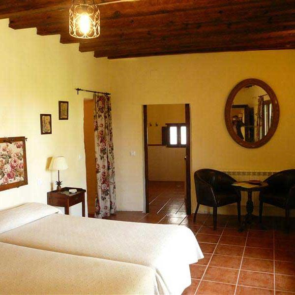 One of the bedrom in Jardin of San Bartolomé House