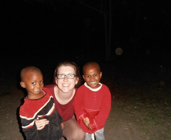 Working with Children in Tanzania with Love Volunteers!