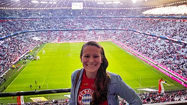 Allianz Arena for FC Bayern Munich game