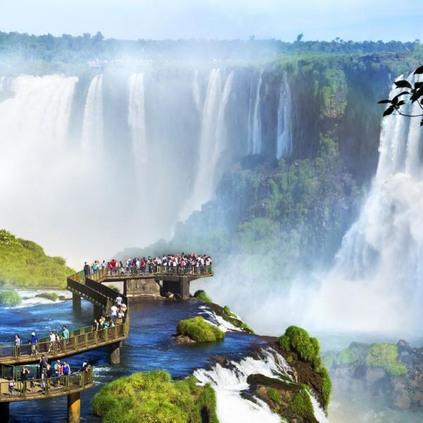 Tour Iguazu Falls, and discover the power of nature