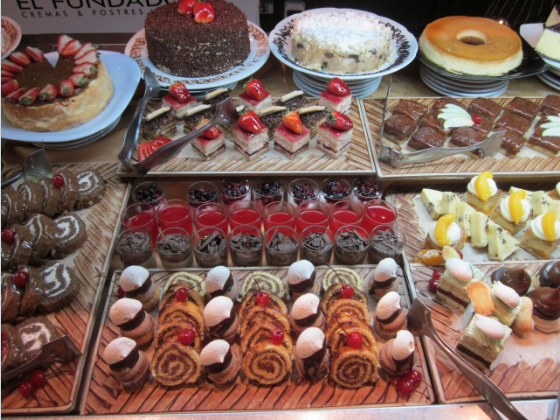 Desserts in Buenos Aires