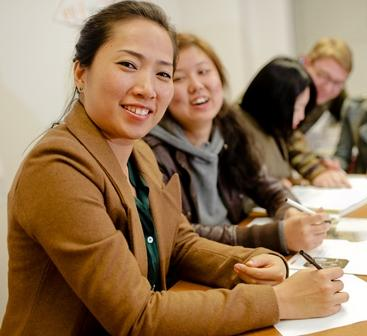 Our TESOL course is not lecture-style. It is very active with a lot of group work, pair work and in-class discussion.