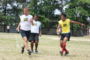 Coach Football to Children in Brazil | travellersworldwide.com