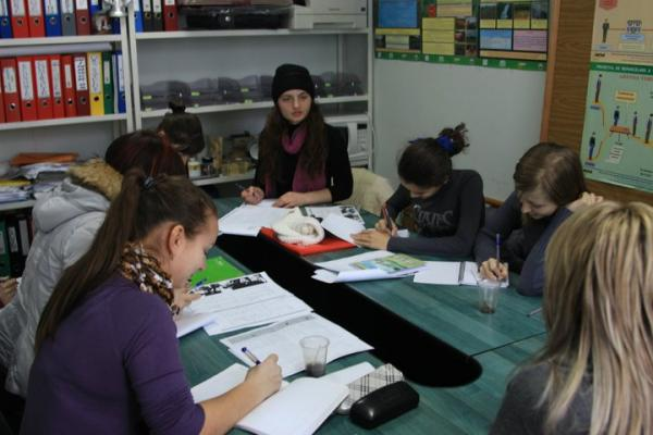 volunteer in Moldova