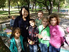 volunteer in Ukraine