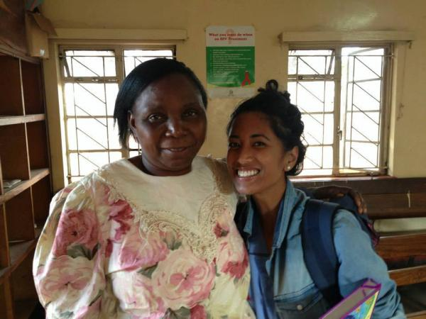 volunteer in Zambia