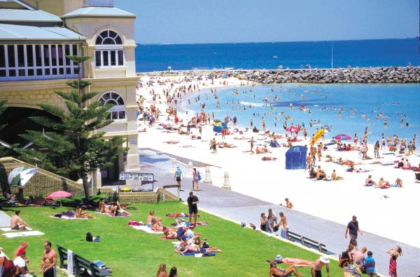 Beach, Cottesloe in Perth, Australia