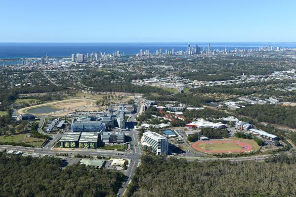 Gold Coast, Australia, Griffith, Beach, Skyline