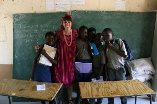 WorldTeach Namibia Volunteer