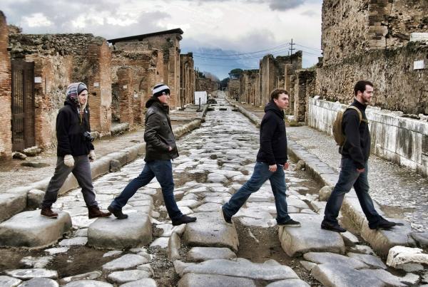 Pompeii field trip
