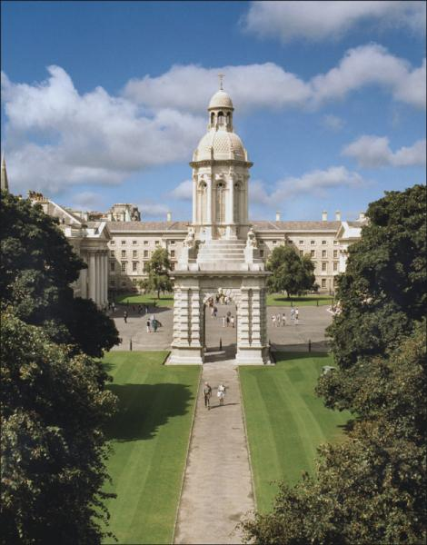 Trinity College Dublin Ireland Top University