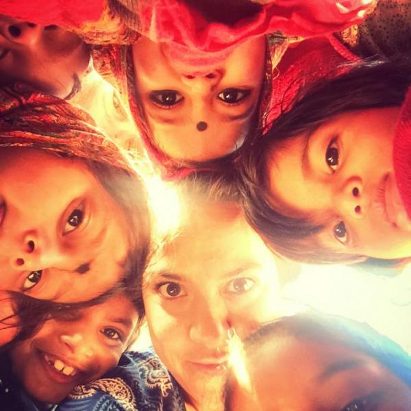education-volunteering-india