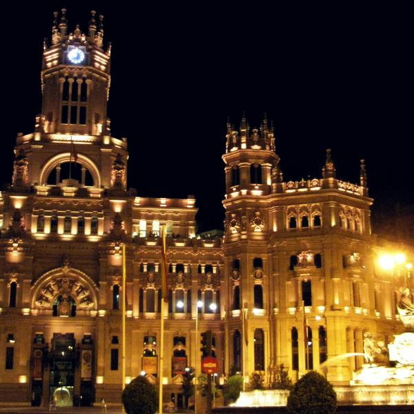 Cibeles Fountain - Intern in Madrid - Adelante Abroad