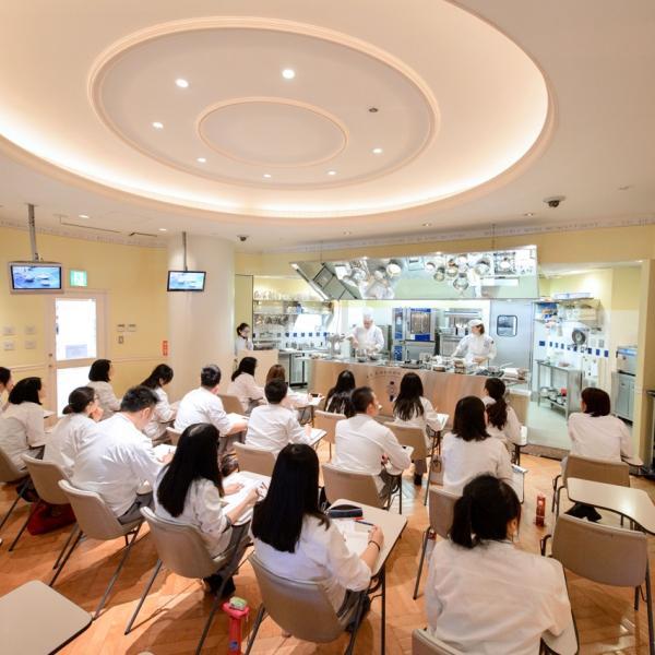 Demonstration class at Le Cordon Bleu Tokyo